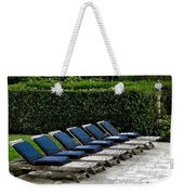Chairs Of The Deck Weekender Tote Bag