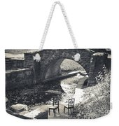 Chairs - Stone Bridge Weekender Tote Bag