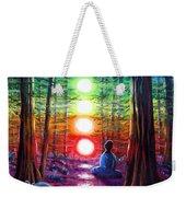 Chakra Meditation In The Redwoods Weekender Tote Bag