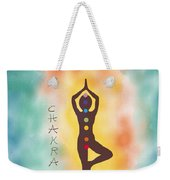 Chakra Yoga Art By Valentina Miletic Weekender Tote Bag