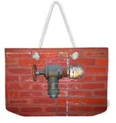 Chalked Pipe Weekender Tote Bag