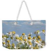 Chamomile Nature Spring Scene Weekender Tote Bag