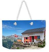 Chamonix Refuge Weekender Tote Bag