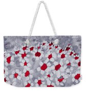 Champs De Marguerites - Love Is In The Air - Red -a23a3 Weekender Tote Bag