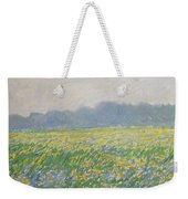 Champ D'iris A Giverny Weekender Tote Bag