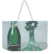 Champagne And Roses Weekender Tote Bag