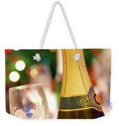 Champagne Weekender Tote Bag by Carlos Caetano