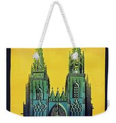 Champagne, Reims, Cathedral, France Weekender Tote Bag