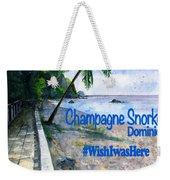 Champagne Snorkel Dominica Shirt Weekender Tote Bag