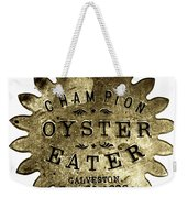 Champion Oyster Eater - To License For Professional Use Visit Granger.com Weekender Tote Bag
