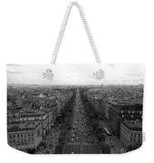 Champs Elysees In Paris Weekender Tote Bag
