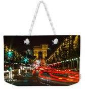 Champs Elysees Weekender Tote Bag