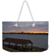 Chandler Hovey Park Sunset Marblehead Ma Weekender Tote Bag