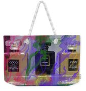 Chanel Coco Abstract Weekender Tote Bag