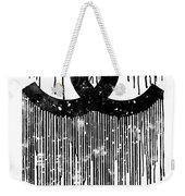 Chanel Logo Black White 1 Weekender Tote Bag