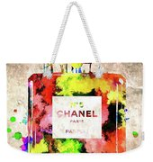 Chanel No. 5 Colored  Weekender Tote Bag
