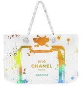 Chanel Number Nineteen Weekender Tote Bag