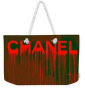 Chanel Plakative Fashion - Neon Weave Weekender Tote Bag