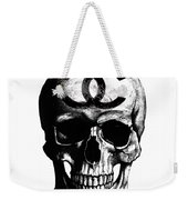 Chanel Skull Black Weekender Tote Bag