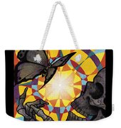 Change Mandala Weekender Tote Bag by Deadcharming Art