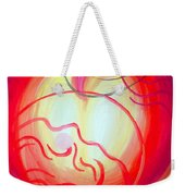 Changes In Mood And Mind. Double Light Weekender Tote Bag