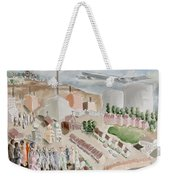 Changing Cityscape Slough Weekender Tote Bag
