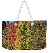 Changing Colours Of The Fall Weekender Tote Bag