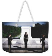 Changing Of The Guard At The Tomb Of The Unknowns At Arlington Weekender Tote Bag