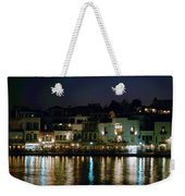Chania By Night  Weekender Tote Bag