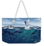Channel Islands Whales Weekender Tote Bag