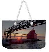 Channel Light, Dawn Weekender Tote Bag
