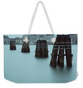 Channel Markers, Venice, Italy Weekender Tote Bag