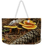 Chanterell Mushrooms  Weekender Tote Bag