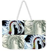 Chaos Dragon Fact W Fiction Weekender Tote Bag