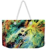 Chaotic Play Of Color Weekender Tote Bag