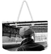 Chap In The Cap #3  Weekender Tote Bag