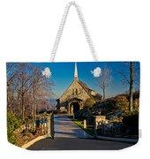 Chapel At Glassy Weekender Tote Bag