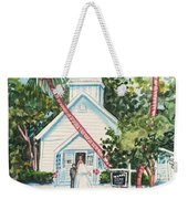 Chapel By The Sea Captiva Weekender Tote Bag