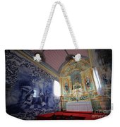 Chapel In Azores Islands Weekender Tote Bag