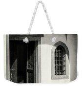 Chapel In Riomaggiore Cinque Terre Italy Bw Weekender Tote Bag