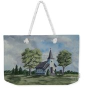 Chapel In Summer Weekender Tote Bag