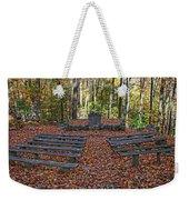 The Chapel In The Park Weekender Tote Bag