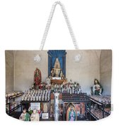 Chapel Mortuary Interior - San Xavier Del Bac Mission - Tucson Arizona Weekender Tote Bag