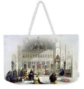 Chapel Of The Convent Of St Saba Weekender Tote Bag