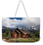 Chapel Of The Transfiguation  Weekender Tote Bag