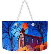 Chapel On The Hill Weekender Tote Bag by Art West