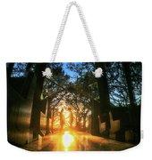 Chapel Sunset Weekender Tote Bag