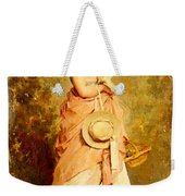 Chaplin Charles La Jeune Fille Aux Colombes Weekender Tote Bag