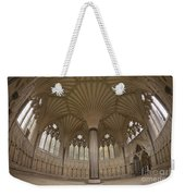 Chapter House, Wells Cathedral, Somerset Uk Weekender Tote Bag