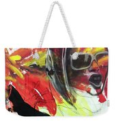 Charcoal Drawing Weekender Tote Bag